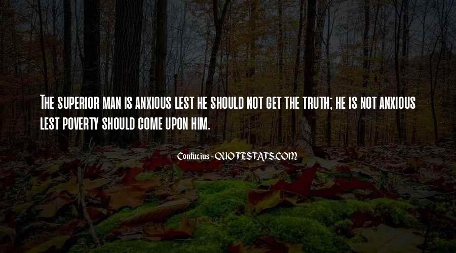 Man Superior Quotes #305137