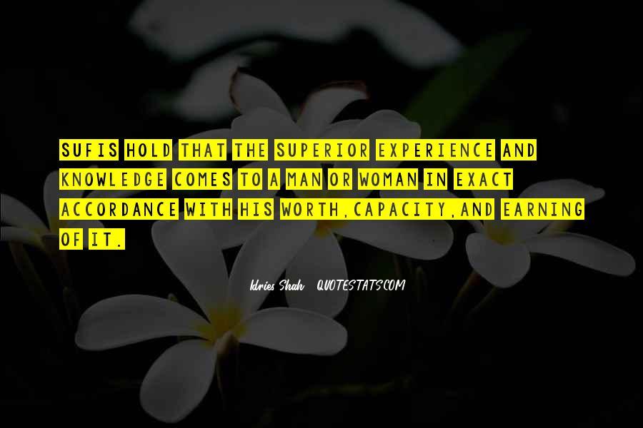 Man Superior Quotes #342370