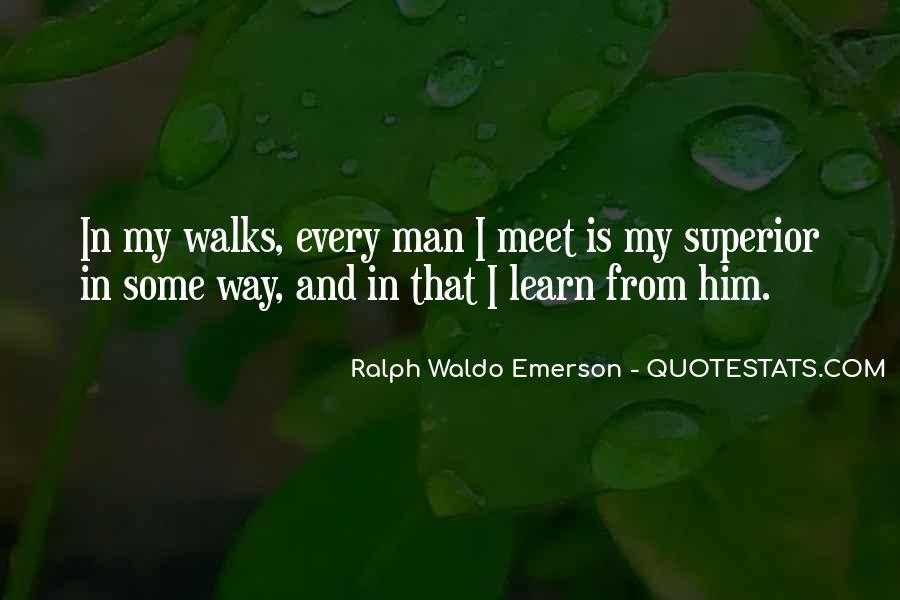 Man Superior Quotes #527095