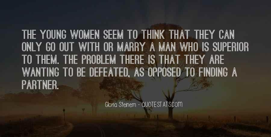 Man Superior Quotes #5351