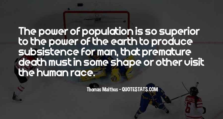 Man Superior Quotes #543643