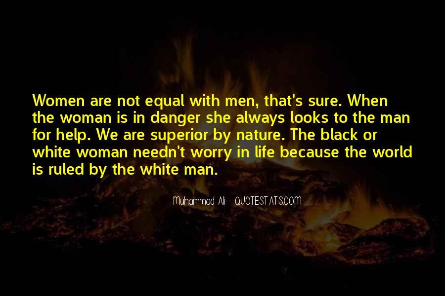 Man Superior Quotes #54896