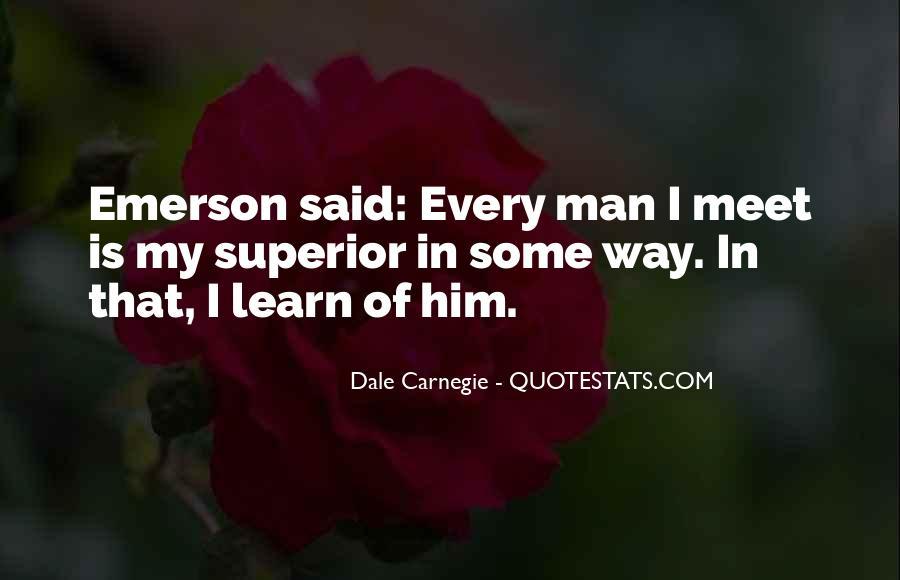 Man Superior Quotes #64775