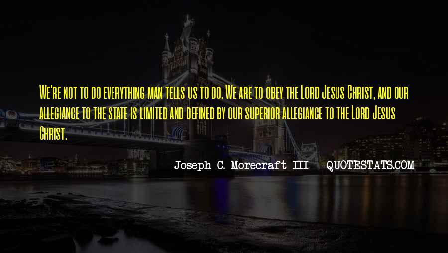 Man Superior Quotes #784172