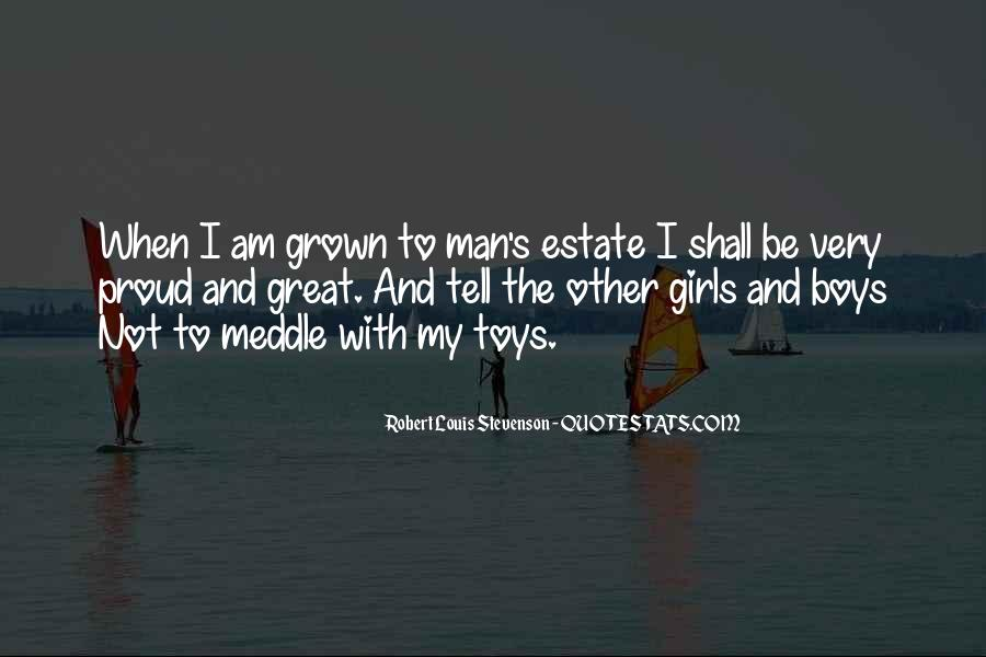 Man Toys Quotes #716231