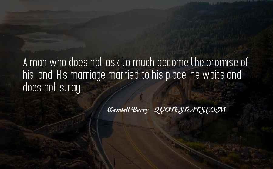Man Who Waits Quotes #1230418
