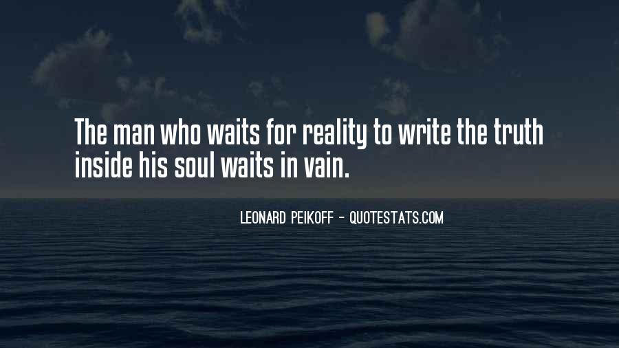 Man Who Waits Quotes #1272680