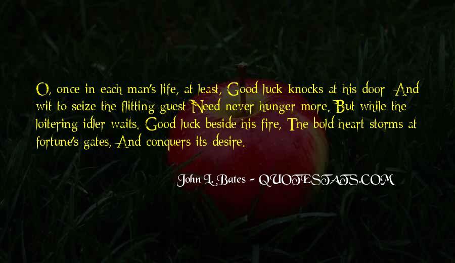 Man Who Waits Quotes #1877495