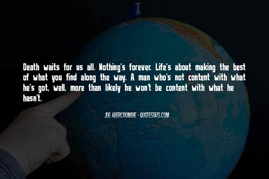 Man Who Waits Quotes #191188
