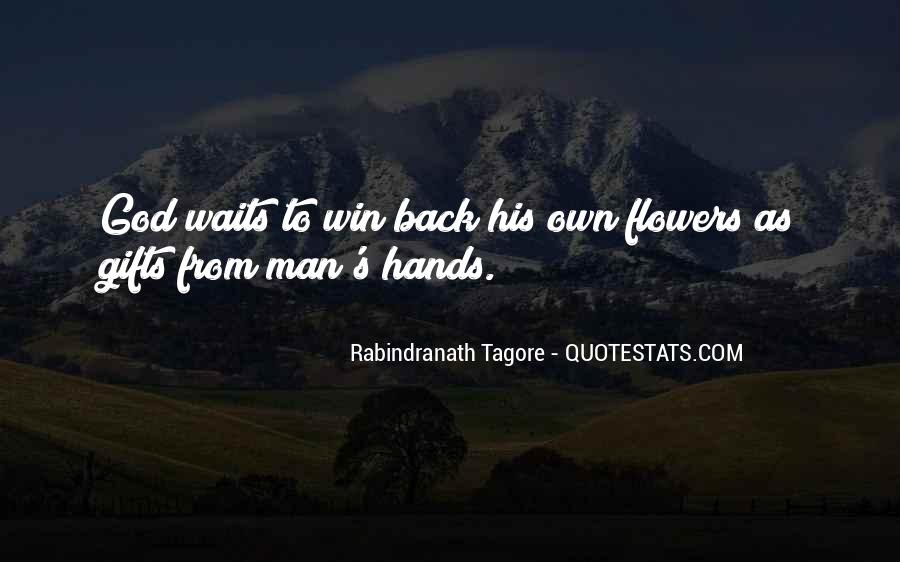 Man Who Waits Quotes #39808