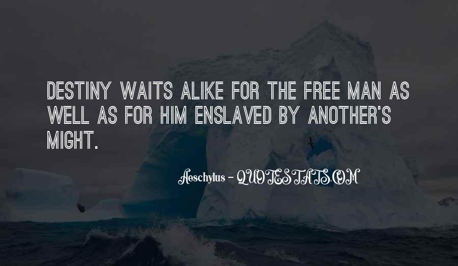 Man Who Waits Quotes #990140