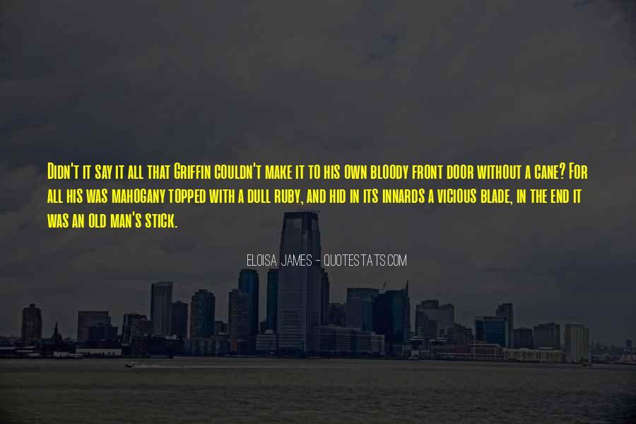Man's Man Quotes #10235