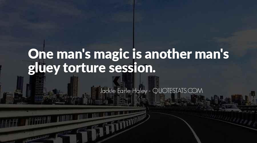 Man's Man Quotes #4378