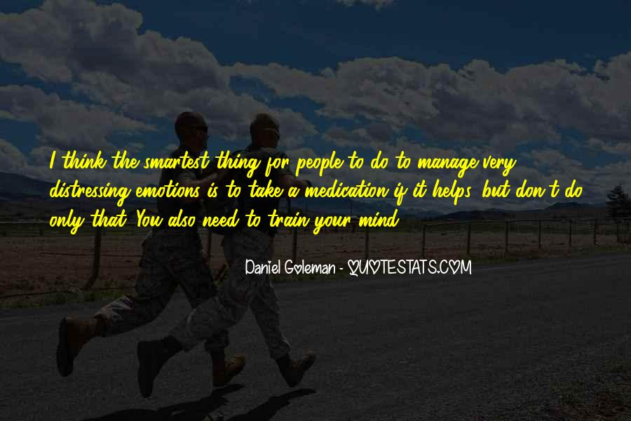 Manage Emotions Quotes #1240628