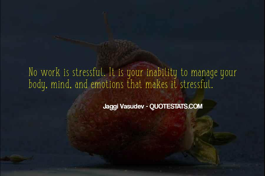 Manage Emotions Quotes #1370980
