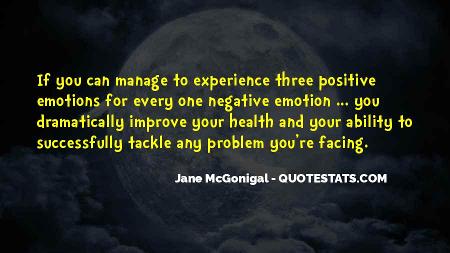 Manage Emotions Quotes #1615476