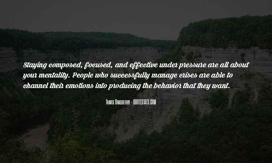 Manage Emotions Quotes #250177
