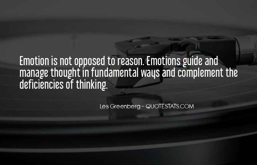 Manage Emotions Quotes #649127