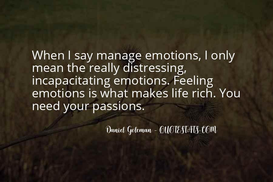 Manage Emotions Quotes #671137