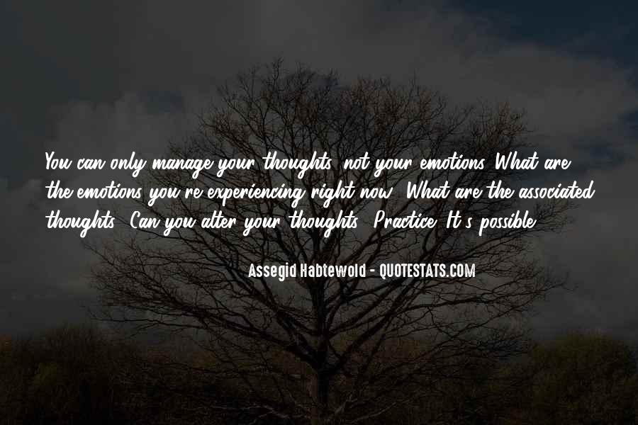 Manage Emotions Quotes #684435