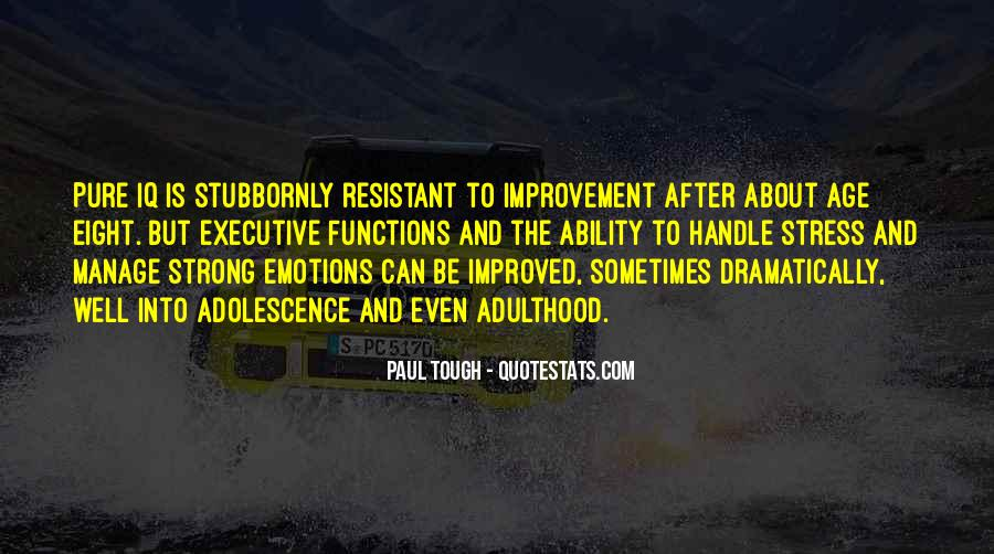 Manage Emotions Quotes #812724