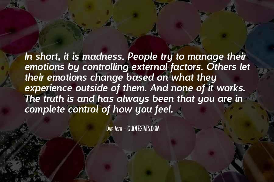 Manage Emotions Quotes #834289