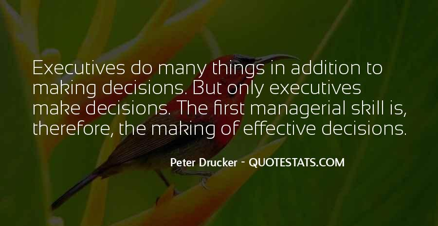 Managerial Skills Quotes #862555