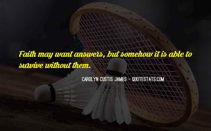 Quotes About Custis #735200