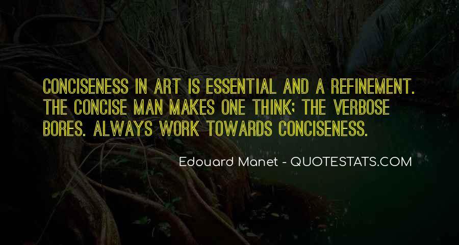 Manet Edouard Quotes #513915