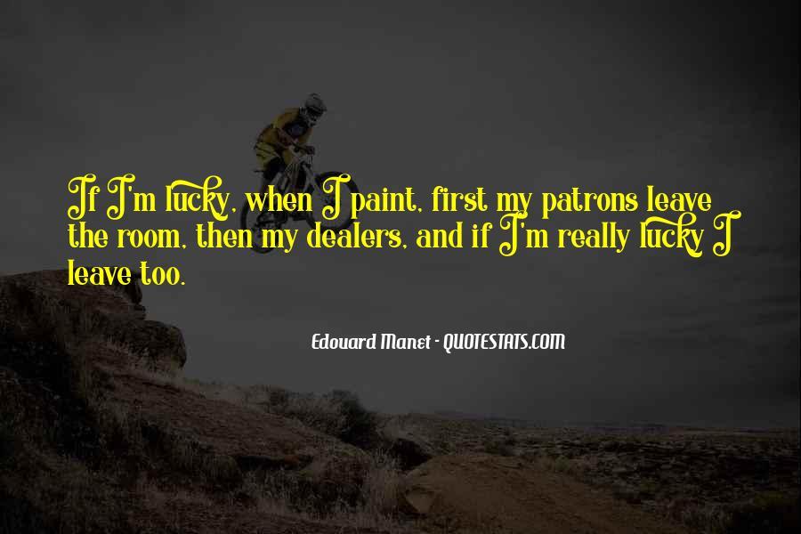 Manet Edouard Quotes #567285