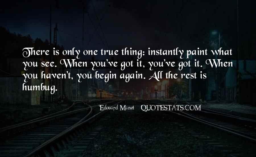 Manet Edouard Quotes #74326