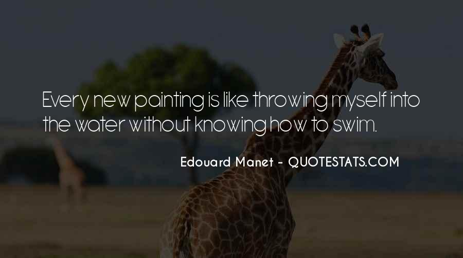 Manet Edouard Quotes #919854