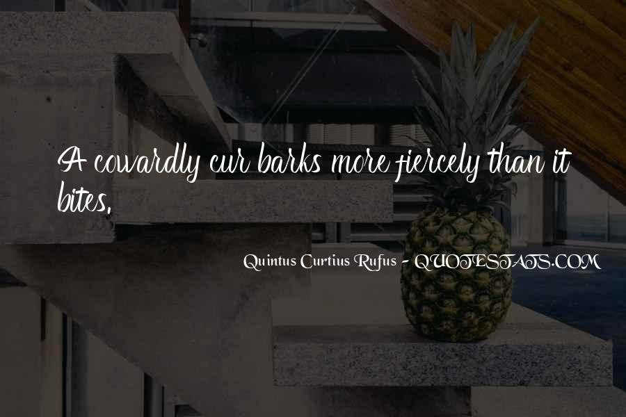 Quotes About Cur #506406
