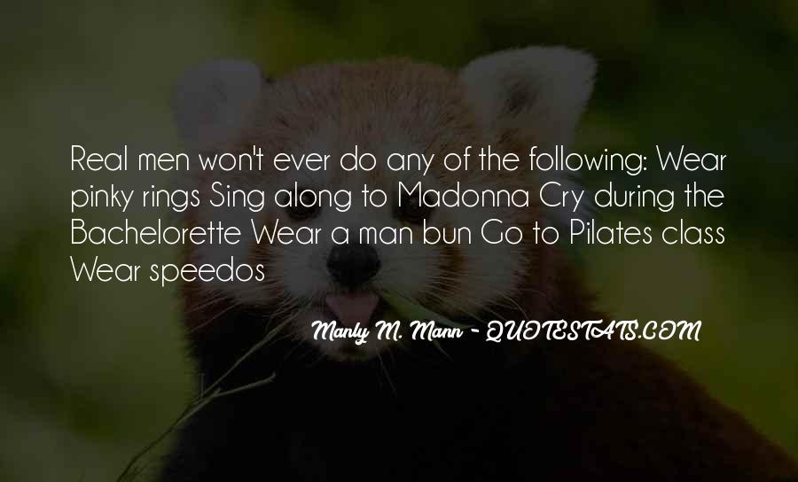 Mann Quotes #2875