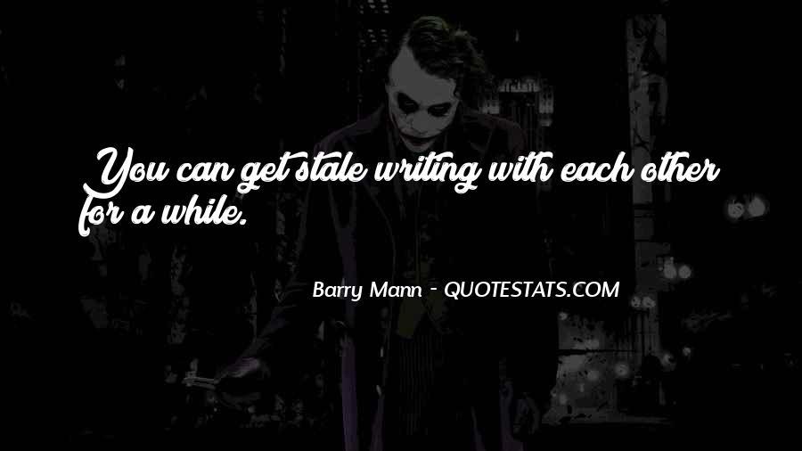 Mann Quotes #34831