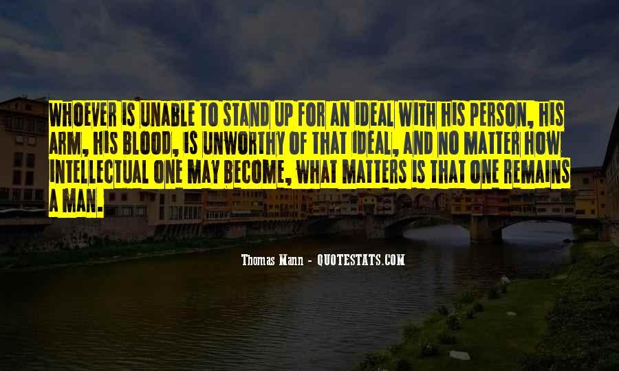 Mann Quotes #52236