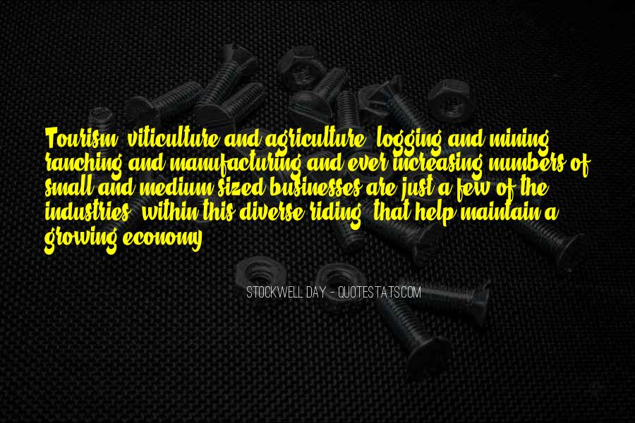 Manufacturing Industries Quotes #1639505