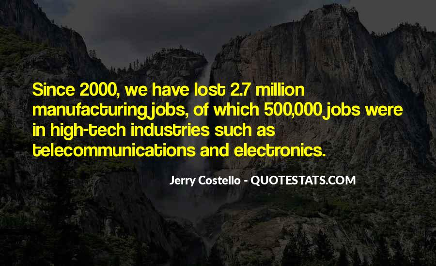 Manufacturing Industries Quotes #60313