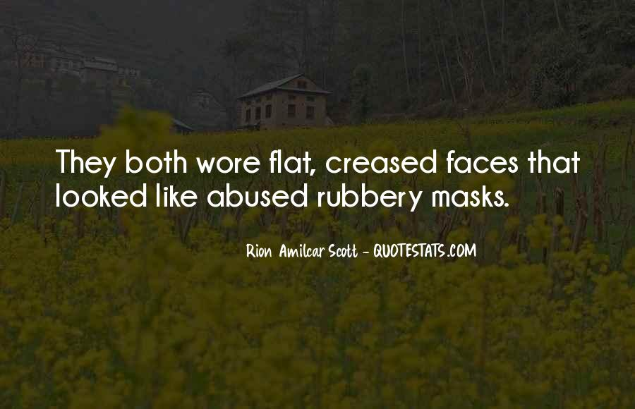 Many Faces Of Me Quotes #7440