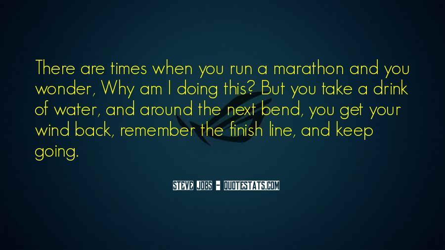Marathon Finish Line Quotes #1247628
