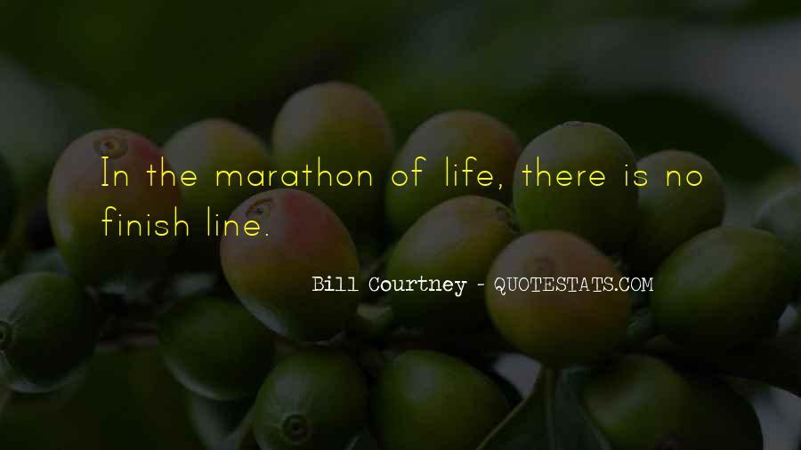 Marathon Finish Line Quotes #1577034