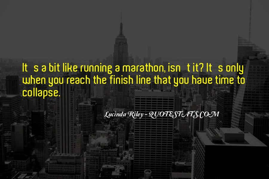 Marathon Finish Line Quotes #935382