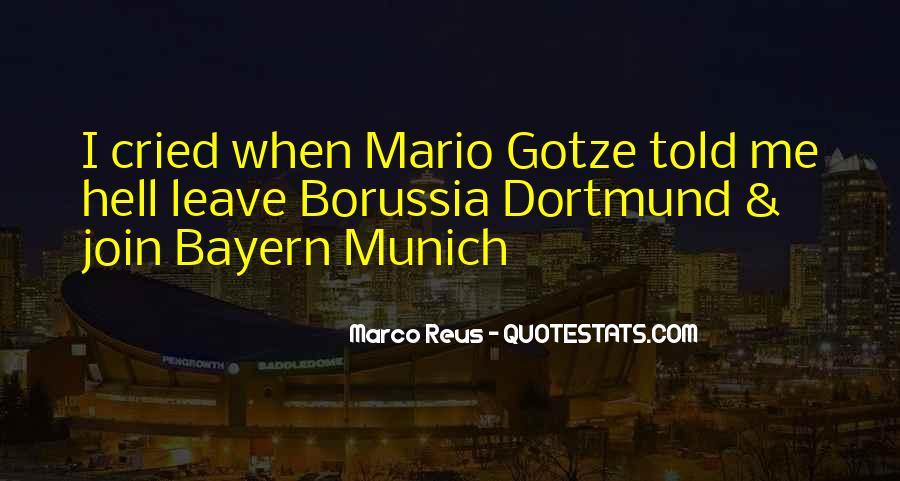 Marco Reus Best Quotes #194622