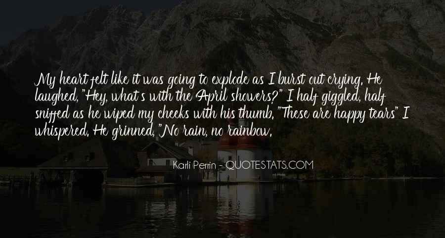 Quotes About Crying Heart #133062