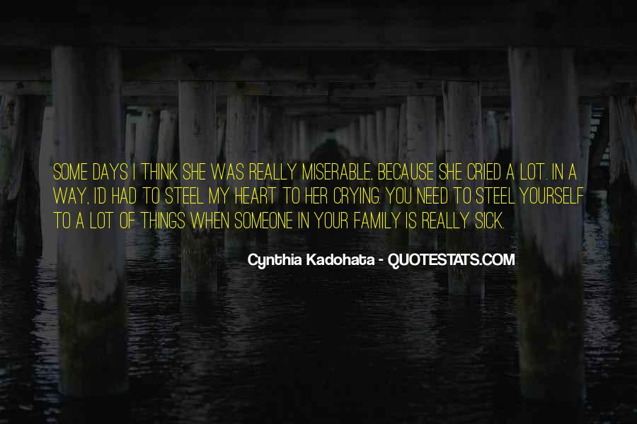 Quotes About Crying Heart #1709425