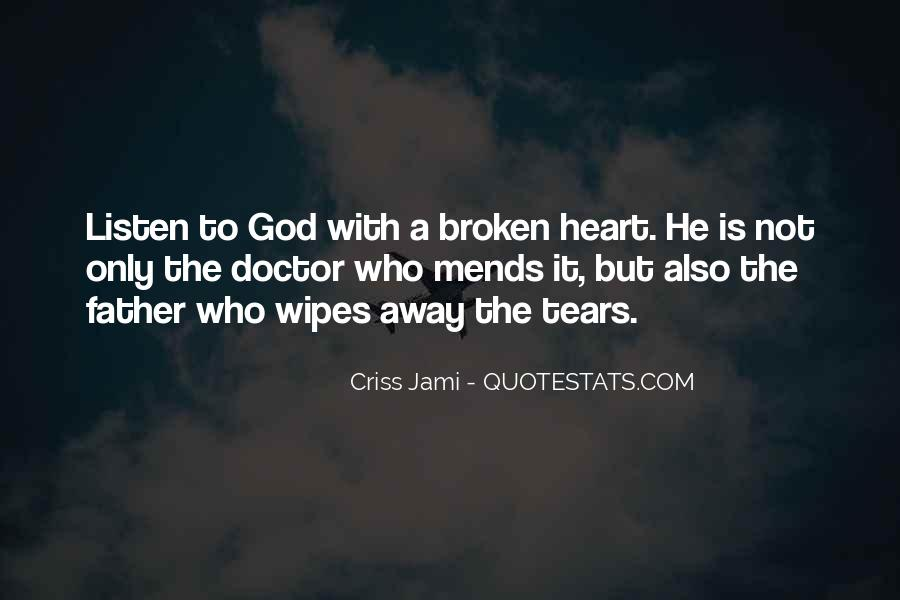 Quotes About Crying Heart #1781518