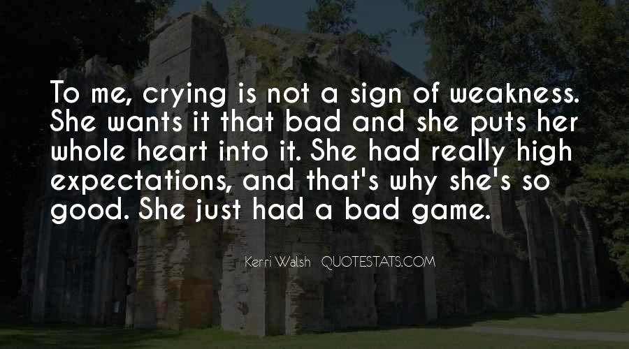 Quotes About Crying Heart #1826340