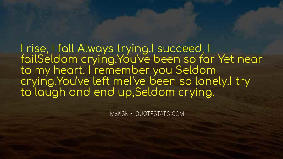 Quotes About Crying Heart #270975