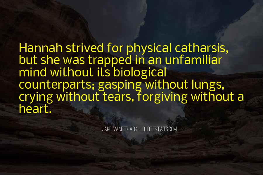 Quotes About Crying Heart #293103