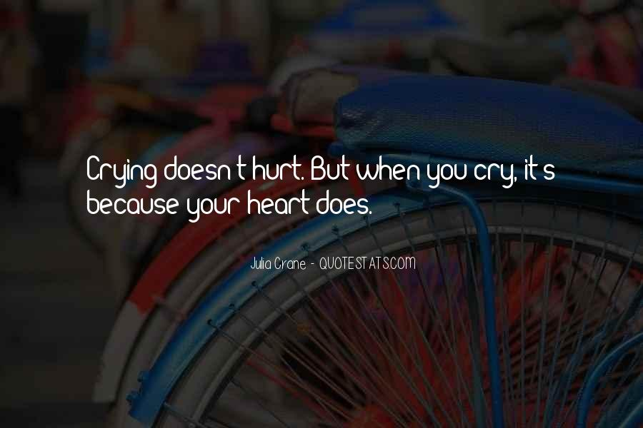 Quotes About Crying Heart #513480